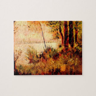 Seated slope by Georges Seurat Jigsaw Puzzle