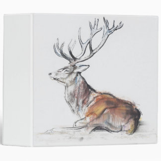 Seated Stag 2006 3 Ring Binder