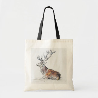 Seated Stag 2006 Tote Bag