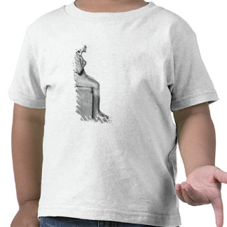 Seated statue of Amenophis IV Tshirt