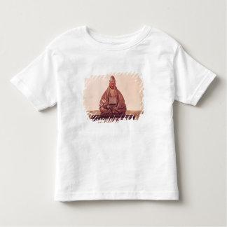 Seated statue of Basho  Edo Period Toddler T-shirt