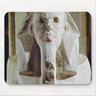 Seated statue of King Djoser Mouse Pad