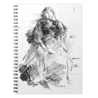 Seated Woman 1894 Spiral Notebook