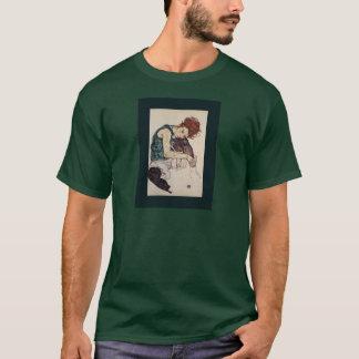 Seated Woman  Egon Schiele AustrianPainter 1917 T-Shirt