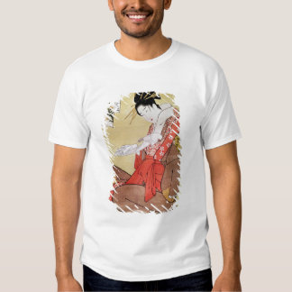 Seated Woman Reading T-Shirt