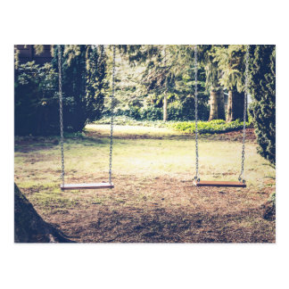 Seating Themed, Garden Swings For Dating Couples W Postcard