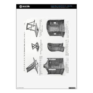 Seats and arbours from the Oetzmann & Co. catalogu Skin For iPad 3