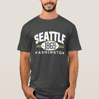 SEATTLE 1869 Washington city incorporated Tee