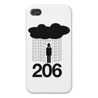 Seattle 206 iPhone 4 cases