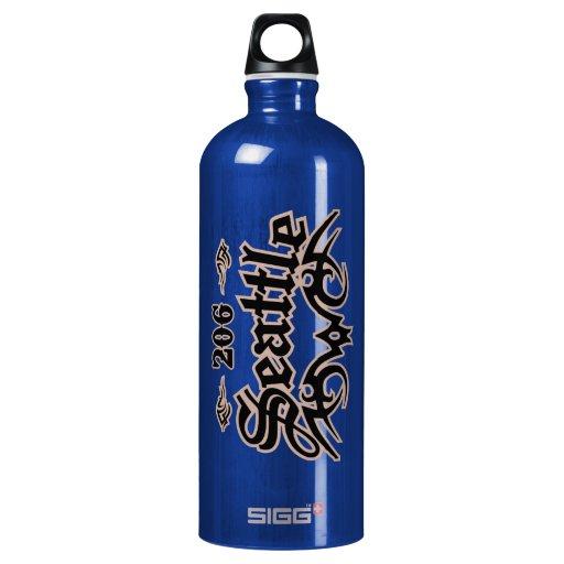 Seattle 206 SIGG traveler 1.0L water bottle