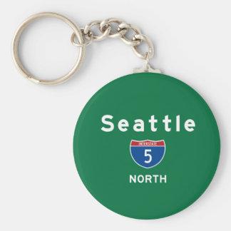 Seattle 5 keychains