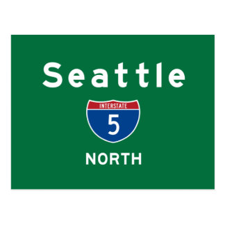 Seattle 5 postcard