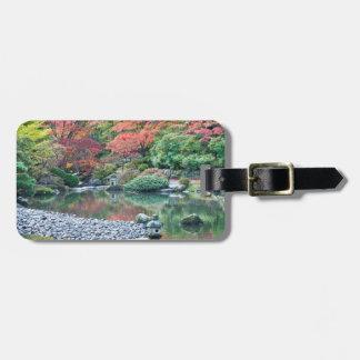 Seattle, Arboretum Japanese Garden Bag Tag