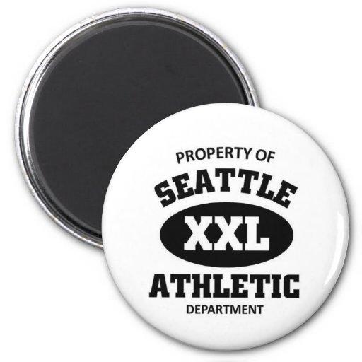 Seattle Athletic Department Refrigerator Magnet