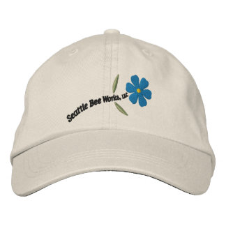 Seattle Bee Works Cap Embroidered Hat