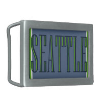 Seattle Belt Buckle