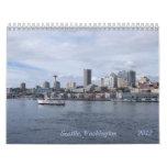 Seattle Calendario De Pared