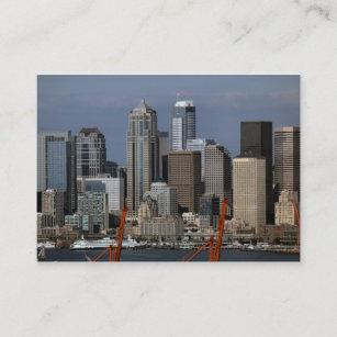Seattle business cards templates zazzle seattle central business district business card colourmoves