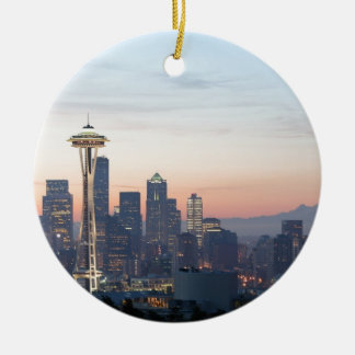 Seattle Ceramic Ornament