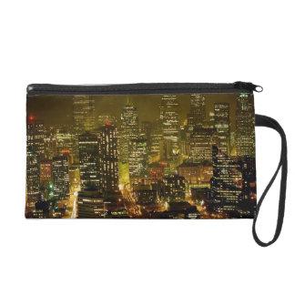Seattle city view wristlet purses
