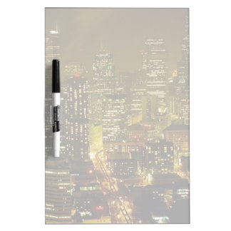 Seattle city view Dry-Erase boards
