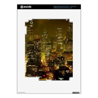 Seattle city view iPad 3 skin