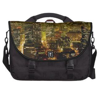 Seattle city view laptop bag