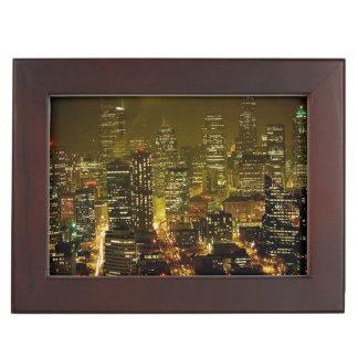 Seattle city view memory box
