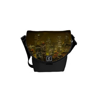 Seattle city view courier bags