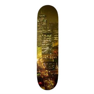 Seattle city view skate board decks