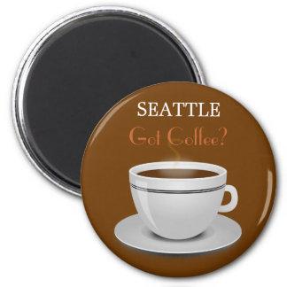 ¿Seattle consiguió el café? Imán