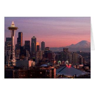 Seattle del parque de Kerry Tarjeta De Felicitación