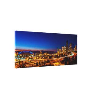 Seattle del puente de Jose Rizal Impresiones En Lona Estiradas