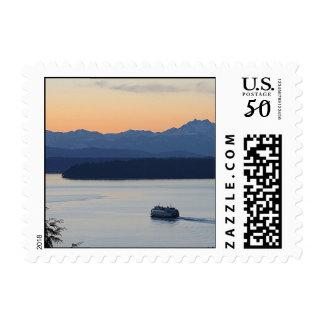 Seattle Ferry to Vashon Island Postage