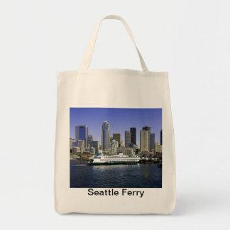 Seattle Ferry Washington State Tote Bag