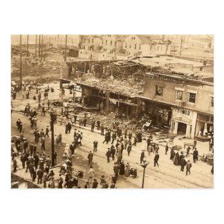 Seattle Fire 1910 Postcard