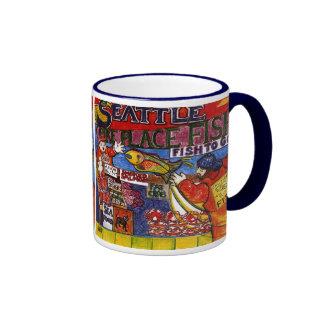 Seattle Fish Market Coffee Mug