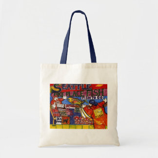 Seattle Fish Market Tote Bag