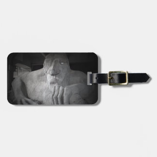 Seattle Fremont Troll Luggage Tag