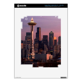 Seattle from Kerry Park. iPad 3 Decals