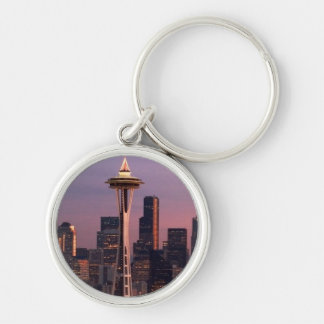 Seattle from Kerry Park. Keychain