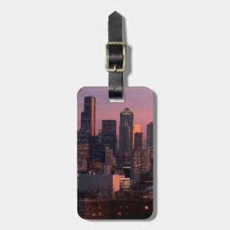 Seattle from Kerry Park. Luggage Tag