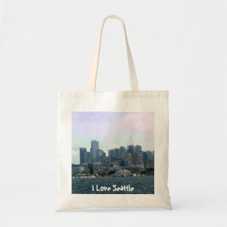 Seattle from the Ferry Tote Bag