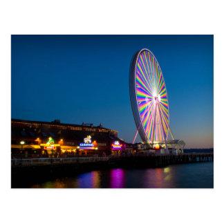 Seattle Great Wheel Postcard
