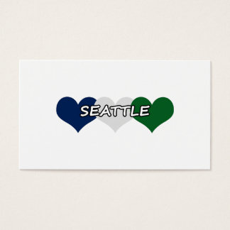 Seattle Heart Business Card