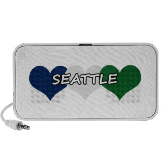 Seattle Heart Notebook Speaker