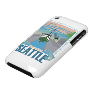 Seattle hermosa iPhone 3 protectores