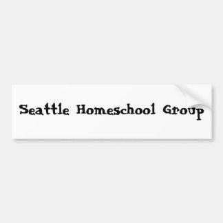 Seattle Homeschool Group Bumper Stickers