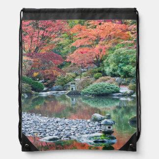 Seattle, jardín del japonés del arboreto mochila