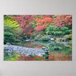 Seattle, jardín del japonés del arboreto póster